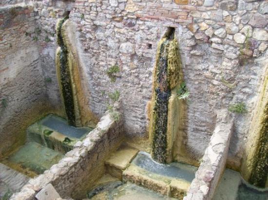 Bagno Vignone Antiche Doccie Termali Picture Of Bagno