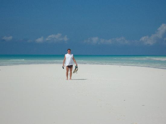 Bahama Beach Club Tip Of Treasure Cay Mile Walk Down The