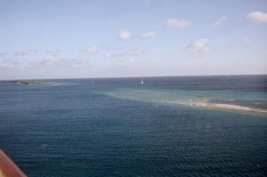 Oranjestad, Aruba : Pic of Aruba from my balcony.