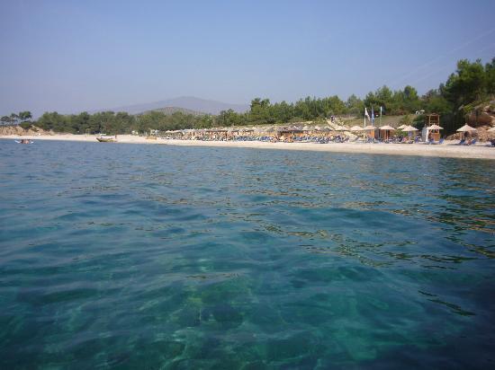 Alexandra Beach Thassos Spa Resort: Der Strand
