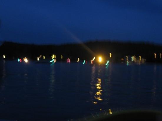 Lac-Simon, Canada: Encore juste avant les feux