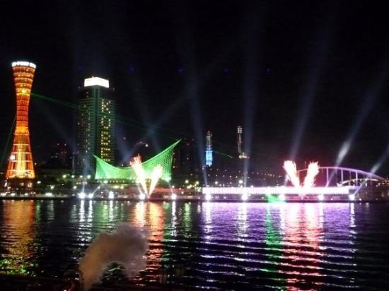 """Meriken Park : The Last time's """"KOBE SWING OF LIGHTS""""show,Start!!"""