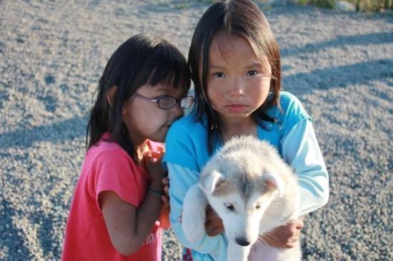 Iqaluit, Kanada: une image qui parle