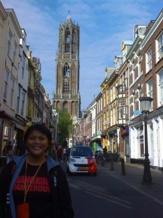 มหาวิหารและหอคอย: The Dom Cathedral in Utrecht.