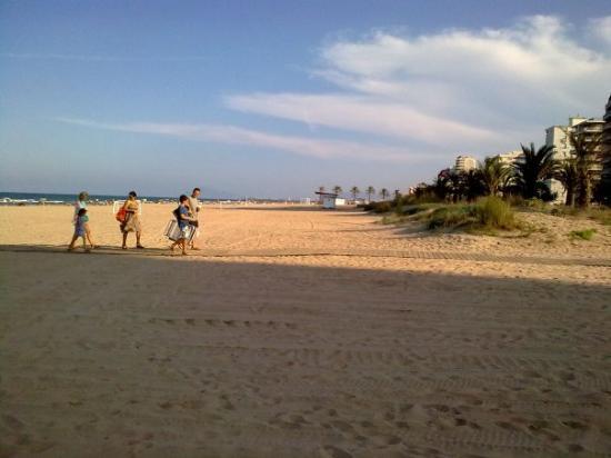 Gandía, España: La Playa de Gandia