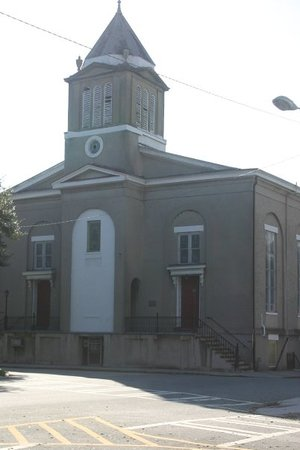 First African Baptist Church: The first African American Baptist Church in Savannah