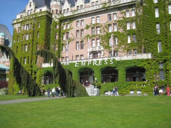 The Fairmont Empress Hotel Victoria B C