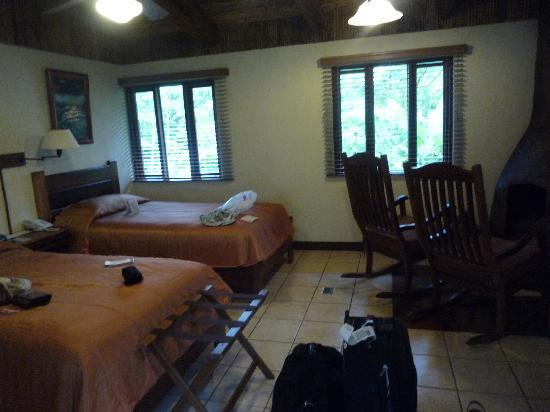Villa Blanca Cloud Forest Hotel and Nature Reserve: Superior casita with 2 twins