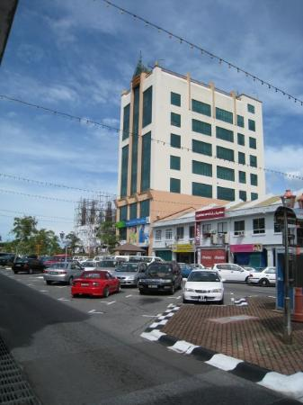Kuala Belait New Look A New Building Will Be Build Next To The