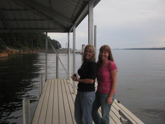 Georgetown, จอร์เจีย: Me and Tami on the Chatahoochee River