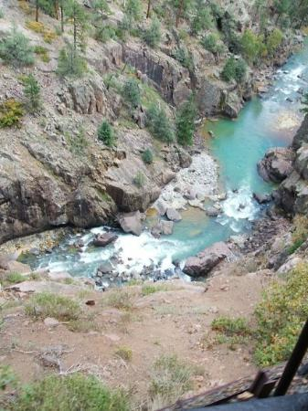 Animas River : One of the most beautiful views seen from a train.  And it IS beautiful!