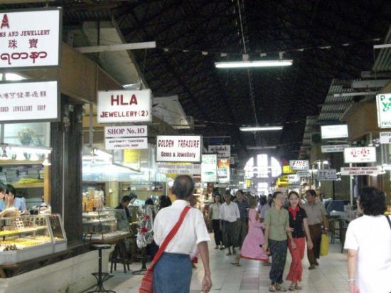 Bogyoke Aung San Market : Bogyoke market