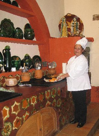 Hotel Casa Encantada: The Chef