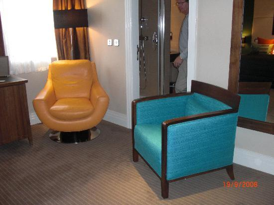 Loved it classy not tacky hard days night hotel for Furniture 60s style