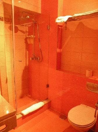 Inn Fashion Residence: シャワー&トイレ