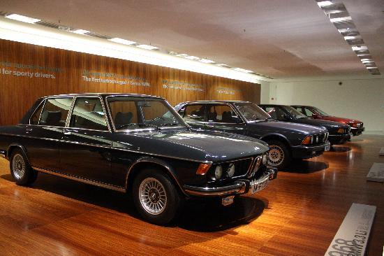 Lots Of Old Bmws Picture Of Bmw Museum Munich Tripadvisor