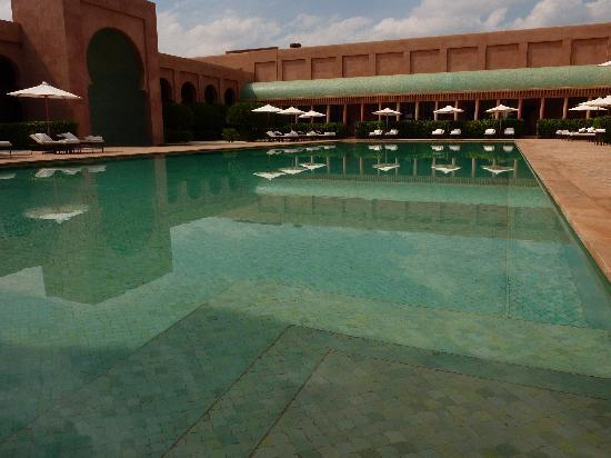 Amanjena : la grande piscine