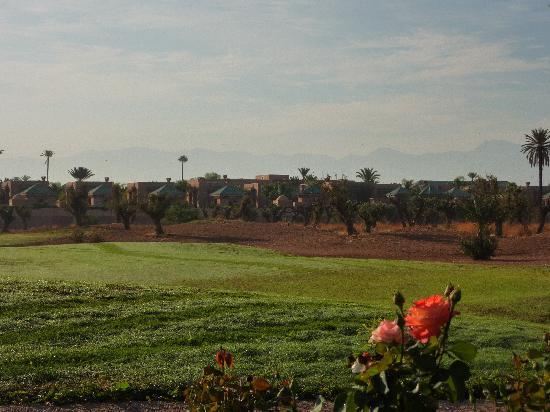 Amanjena: vue d'ensemble, du golf d'Amelkis