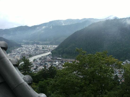 Gujo Hachiman Castle: 天守閣から