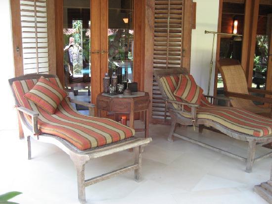 Villa Des Indes: Terassenbungalow