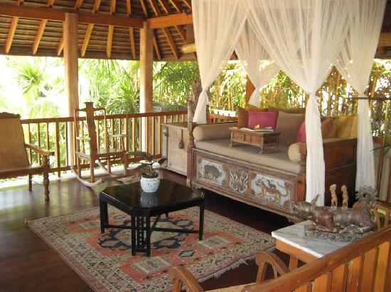 Villa Des Indes: Wohnzimmer