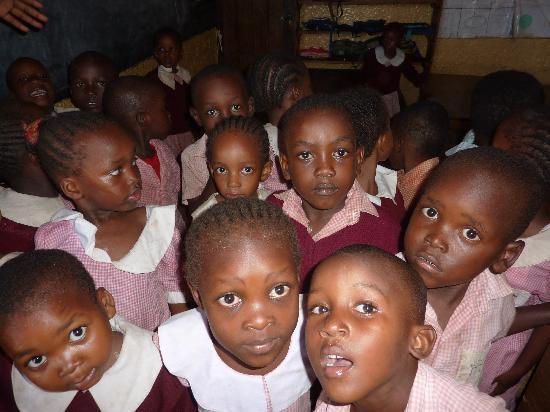 The Baobab - Baobab Beach Resort & Spa: Children at Ukunda Village school