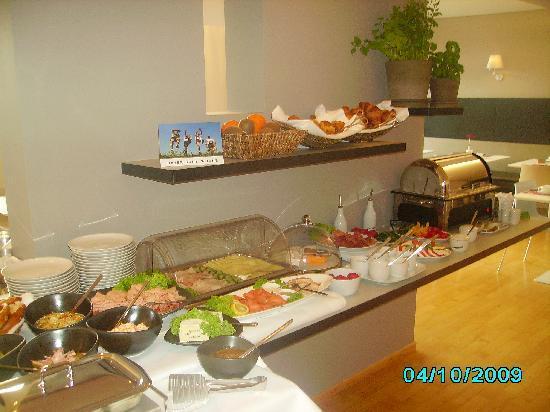 Hotel OTTO: Das Frühstücksbuffet