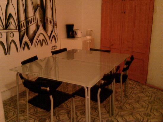 Casa Diagonal: Salle à manger