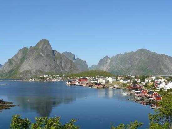 Oslo, Norwegen: passage Iles Lofoten
