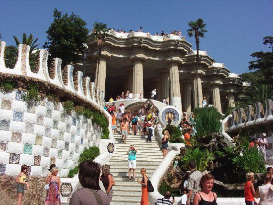 Barcelona, Spanien: la parc guel