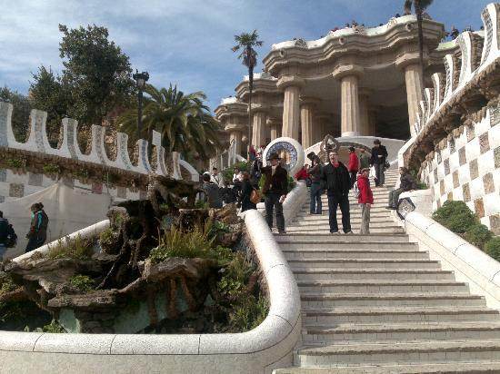 Hotel Aneto: splendido parc guell