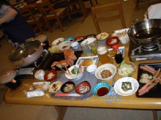 Kitami, Japonya: 夜ご飯