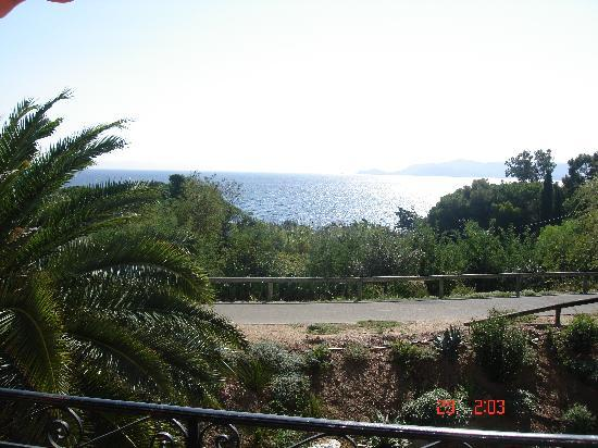Hotel de la Fossette : chambre vue mer
