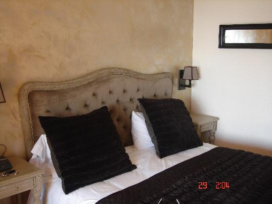 Hotel de la Fossette : la chambre