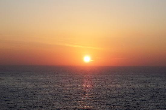 Complejo Calas de Mallorca: lever soleil de la chambre