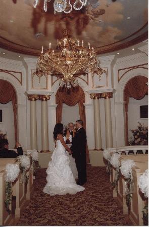 Paris Las Vegas Wedding Chapel Inside The Saying Our Vows