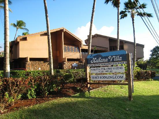Kahana Villa Resort: Entrée et réception