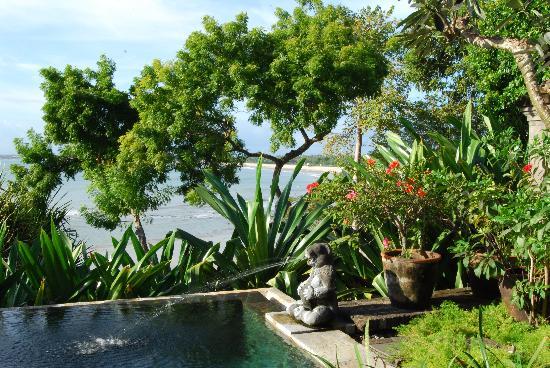Four Seasons Resort Bali at Jimbaran Bay: Blick von der Villa in die Bucht von Jimbaran