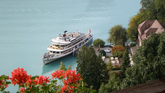 Hotel Brienzersee: More balcony view