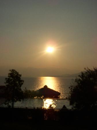 Palairos, กรีซ: Sunset