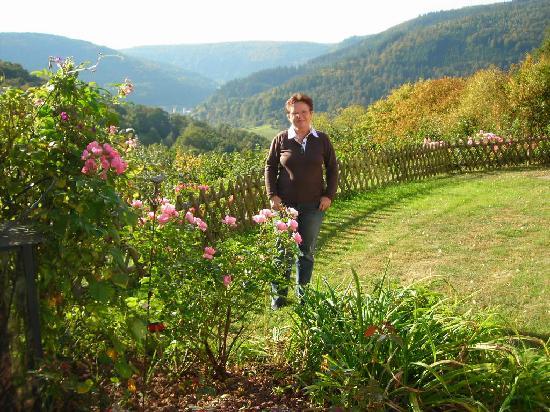 Hotel Neckarblick: Blick in das Neckarthal
