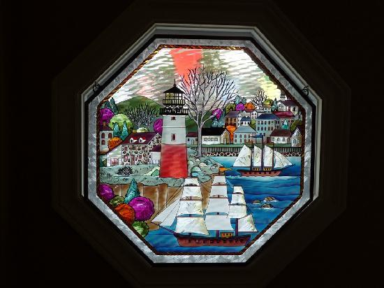 Twillingate, Canada : Stained Glass Window
