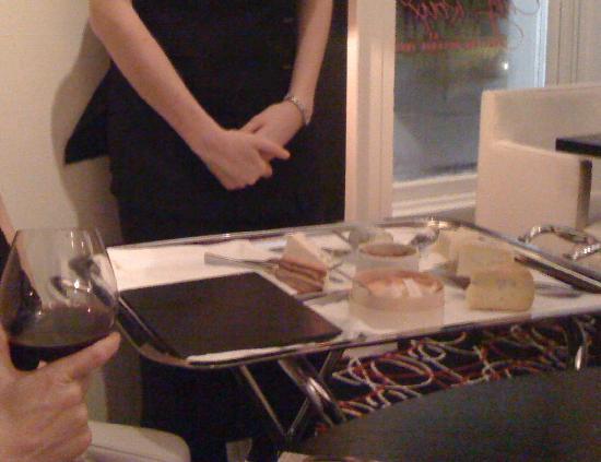 Chez Roux: the super cheese platter