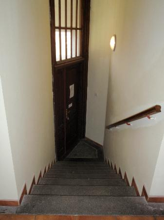 Platan: More stairs inside the studio!