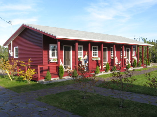 Gambo, Canada: Exterior of 3-room row