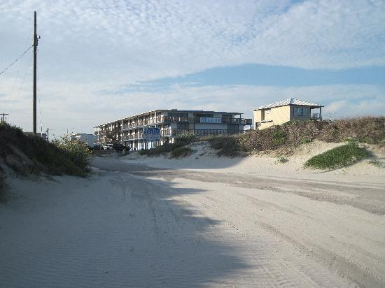 Seaside Motel and Condominiums: View of Seaside from the beach