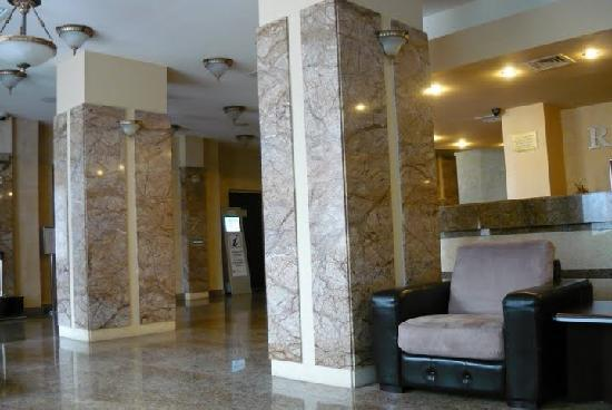 Germisara Hotel Resort & Spa: The lobby and the reception