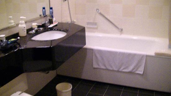 Hamilton Red: Our bathroom - spacious