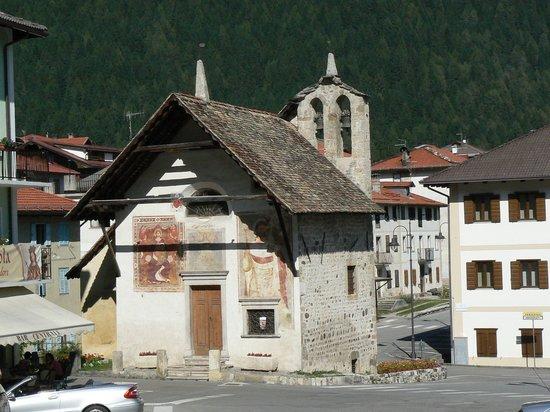 Vigo di Cadore, Italie : Esterno della cap. S. Orsola
