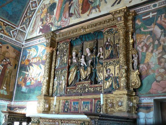 Vigo di Cadore, Italy: Altare di S. Orsola